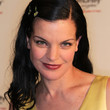 Pauley Perrette Medium Straight Cut