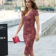 Penelope Cruz Clothes - Print Dress