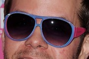Perez Hilton Designer Shield Sunglasses