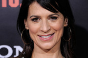Perrey Reeves Long Straight Cut with Bangs