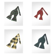 Plaid Bowties