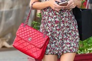 Nicky Hilton Quilted Leather Bag