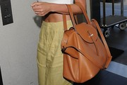 Lily Aldridge Cross Body Tote