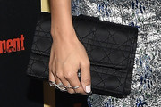 Ashley Madekwe Satin Clutch