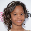 Quvenzhane Wallis Hair - Pinned Up Ringlets