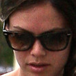 Rachel Bilson Rectangular Sunglasses