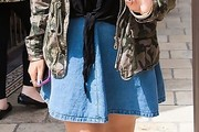 Rachel Crow Denim Skirt