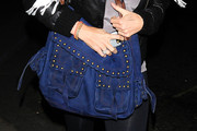 Rachel Hunter Studded Shoulder Bag