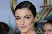 Rachel Weisz Twisted Bun