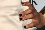 Regina Hall Dark Nail Polish