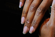 Regina King Neutral Nail Polish