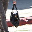 Renee Zellweger Printed Shoulder Bag