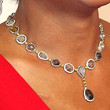 Robin Roberts Gemstone Beaded Necklace