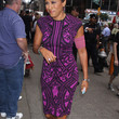 Robin Roberts Clothes - Print Dress