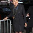 Robin Roberts Clothes - Trenchcoat