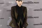 Rooney Mara Military Jacket