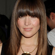 Rose Byrne Hair - Long Straight Cut with Bangs