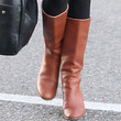 Rose McGowan Knee High Boots