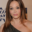 Rose McGowan Hair - Long Center Part