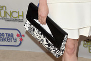 Rose McGowan Oversized Clutch
