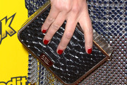 Roxane Mesquida Hard Case Clutch