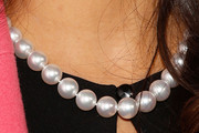 Salma Hayek Cultured Pearls