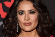 Salma Hayek Shoulder Length Hairstyles