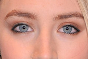 Saoirse Ronan Neutral Eyeshadow