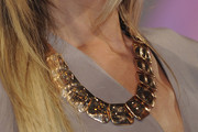 Sarah Brandner Gold Statement Necklace