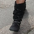 Sarah Harding Shoes - Mid-Calf Boots