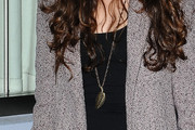 Sarah Hyland Leaf Pendant Necklace