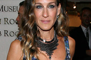 Sarah Jessica Parker Black Statement Necklace