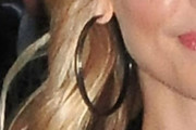 Sarah Michelle Gellar Gold Hoops