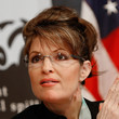 Sarah Palin Hair - Loose Bun