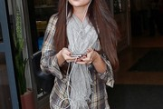 Selena Gomez Button Down Shirt