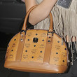 Selena Gomez Handbags - Leather Bowler Bag