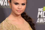 Selena Gomez Long Braided Hairstyle