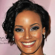 Selita Ebanks Hair - Bobby Pinned updo