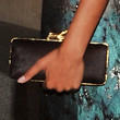 Selita Ebanks Handbags - Satin Clutch