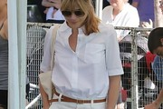 Selma Blair Button Down Shirt
