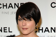 Selma Blair Short cut with bangs