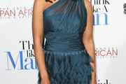 Sharon Leal One Shoulder Dress