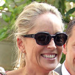 Sharon Stone Hair - Loose Ponytail