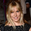 Sienna Miller Hair - Half Up Half Down