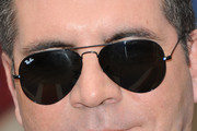 Simon Cowell Aviator Sunglasses