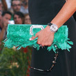 Simona Ventura Handbags - Feathered Clutch