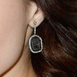 Sophia Bush Jewelry - Dangling Gemstone Earrings
