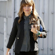 Sophia Bush Print Blouse