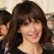 Sophie Marceau Hair - Medium Straight Cut with Bangs
