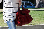 Stephanie Pratt Leather Shoulder Bag
